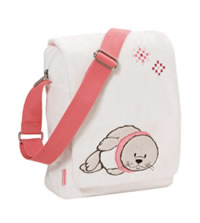 Plush Shoulder Bag Seal